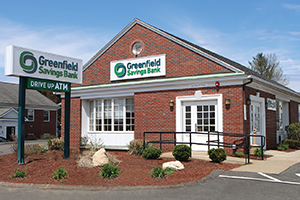 Greenfield Savings Bank Hadley office.