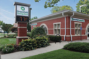Greenfield Savings Bank South Deerfield office.