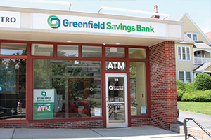 Greenfield Savings Bank Amherst Downtown office.