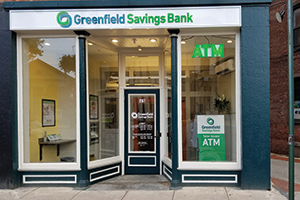 Greenfield Savings Bank Northampton Downtown office.