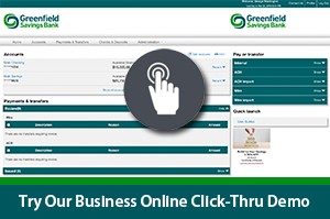 Try our Business Online Click-Thru Demo