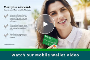 Watch our Mobile Wallet Video