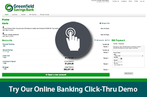 Try our online banking click-thru demo